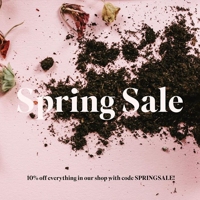 10% off all gifts and seed kits with code SPRINGSALE! . . . #gifts #gift #sale #mothersdaygift #seedkit #seeds #garden