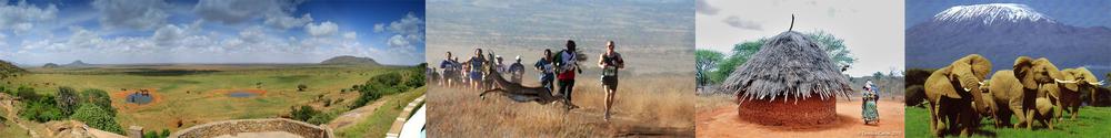 Kenya Wildlife Marathon Panorama 1