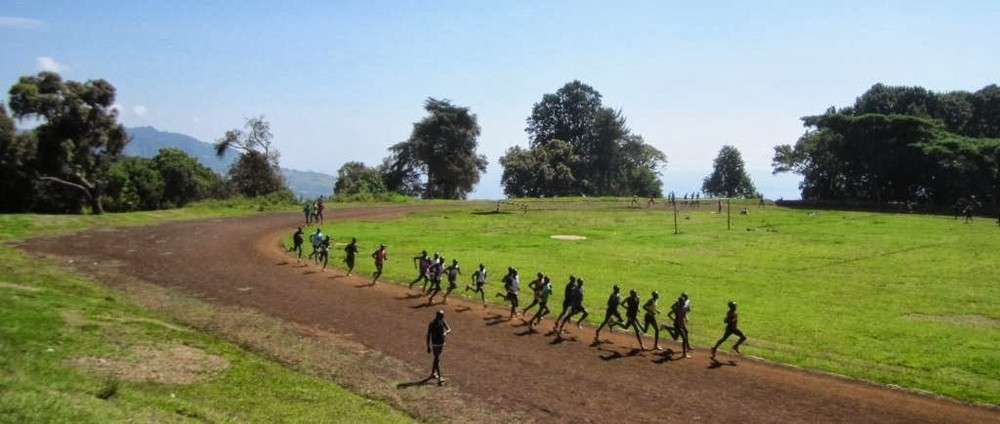 Training in Iten