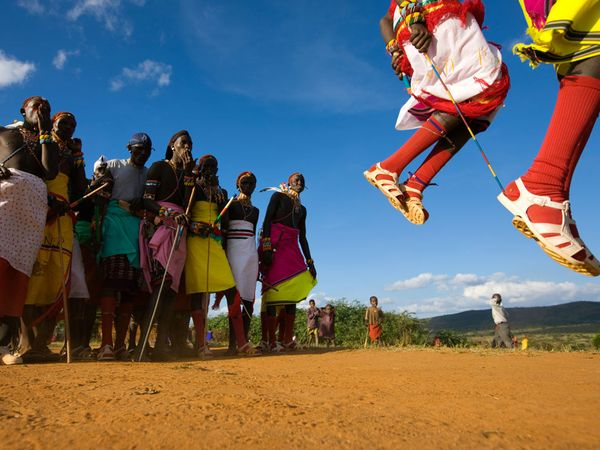 Samburu (local tribe) Wedding
