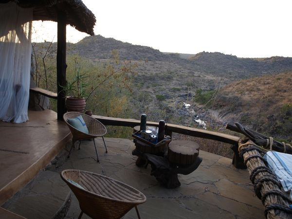 A scenic view from a Game Lodge