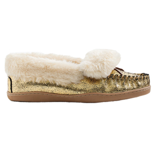 J.Crew Gold Lodge Moccasins
