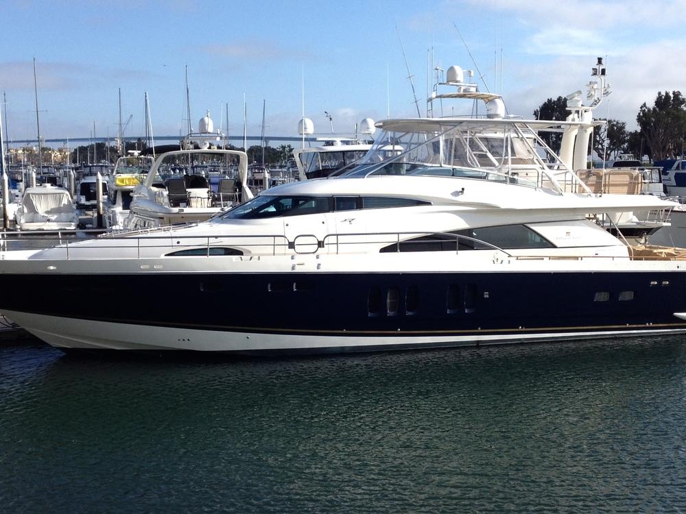 Solar powered Yacht.