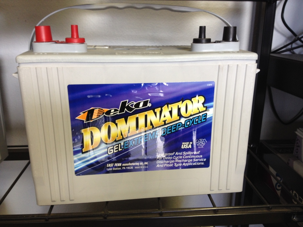 Deep Cycle RV/Marine Batteries
