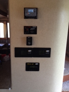 Dual PWM charge controllers and GP-ICR-50 remote