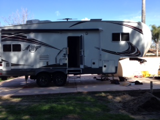 29 foot Actic Fox fifth wheel