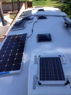 Room for three more Overlander solar panels