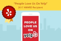 People Love Us on Yelp, 2017 Award Recipient