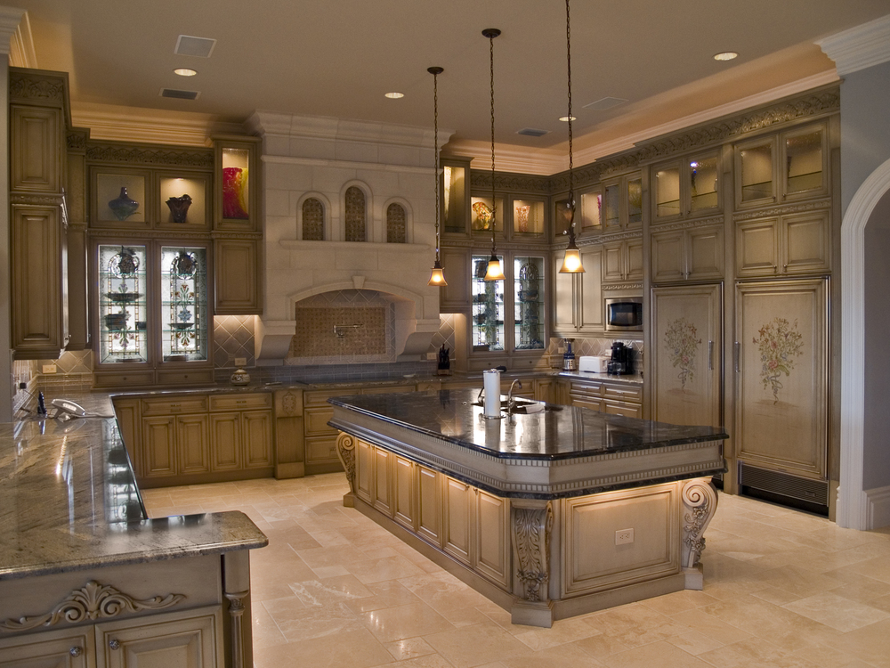 Kitchens cabinet designs of central florida for Florida kitchen designs