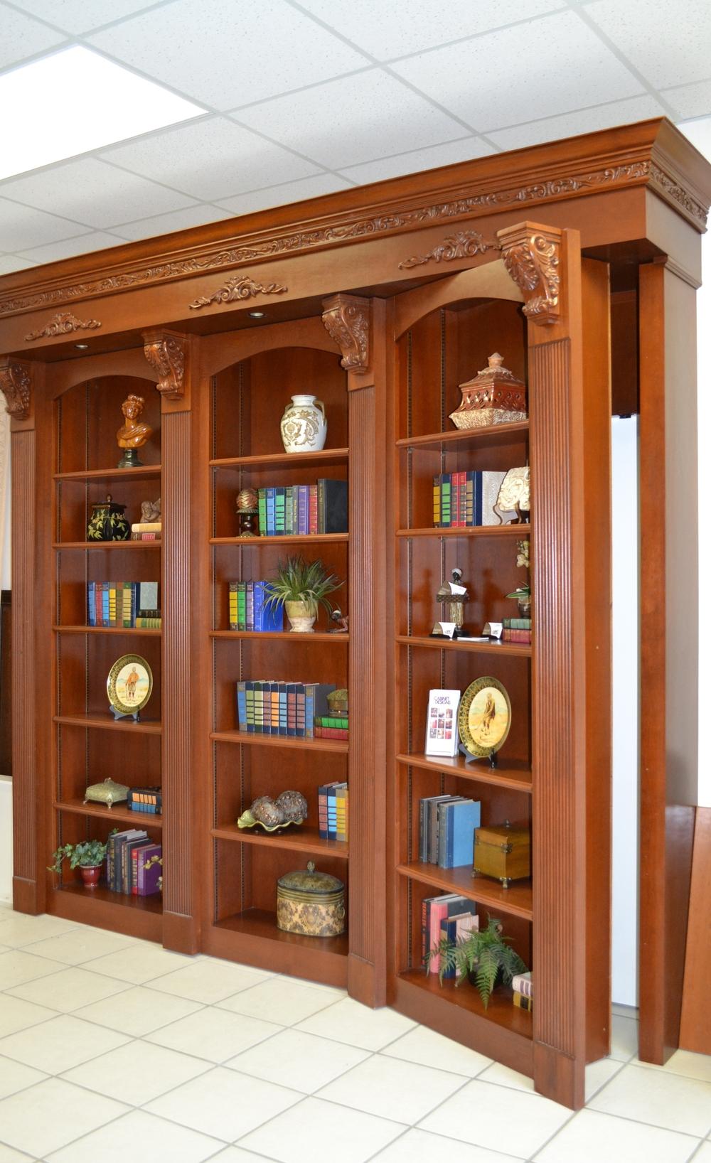 Hidden Doors Bookcase Doors : Bookcases — cabinet designs of central florida