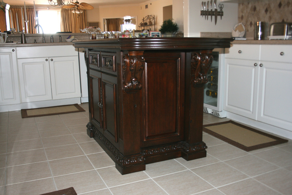 Kitchen Island with Stain Glaze and Metallic Flecks8.jpg