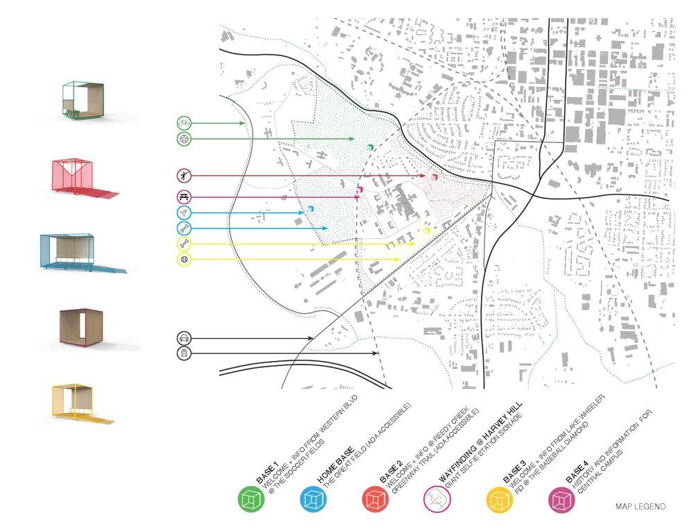 DIX PARK ARCH MAP