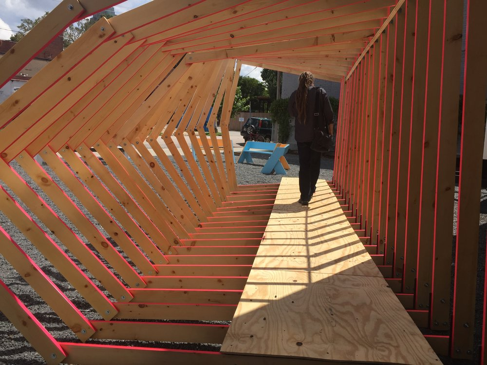 Transformable Pavilion