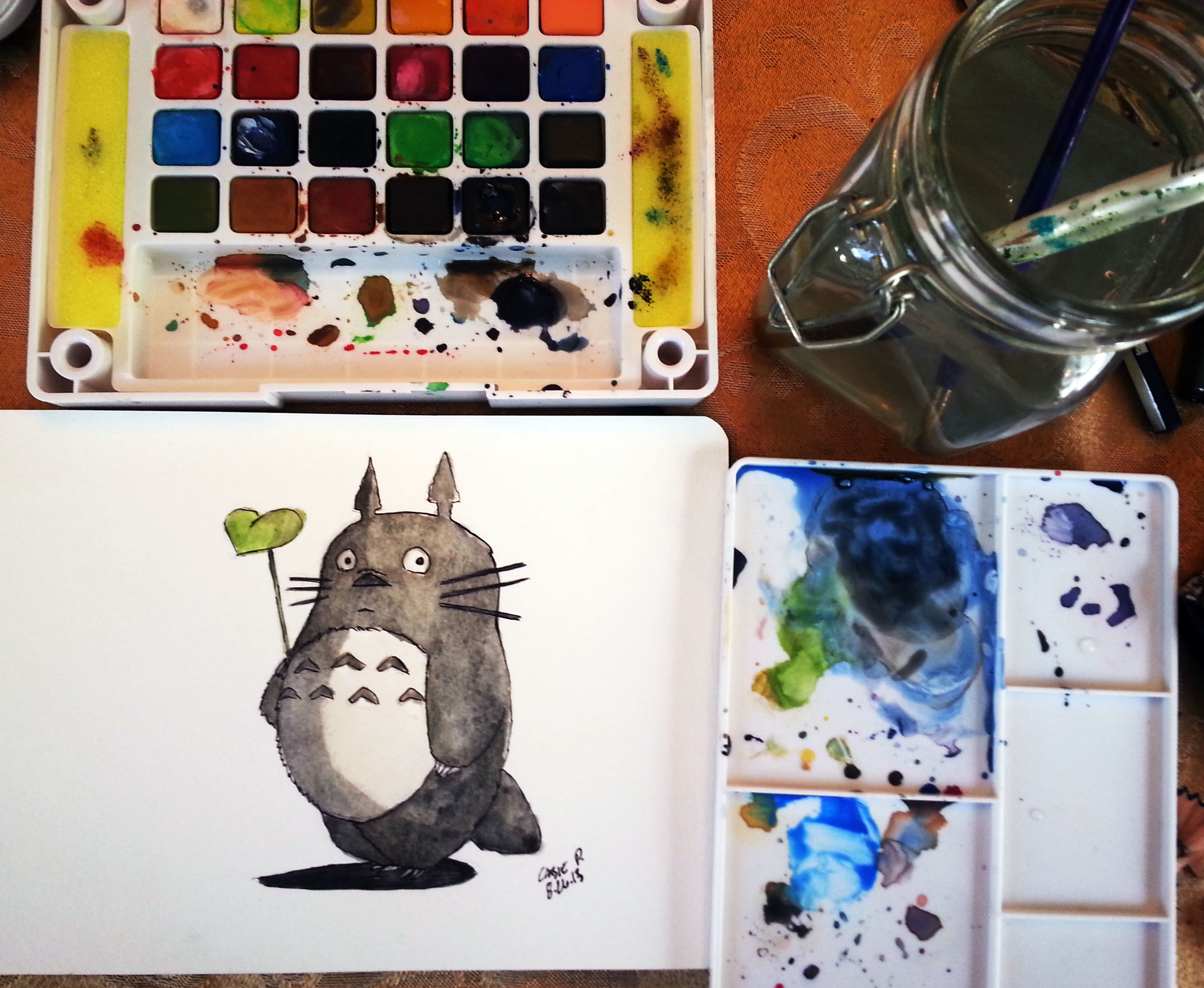 Totoro Watercolor