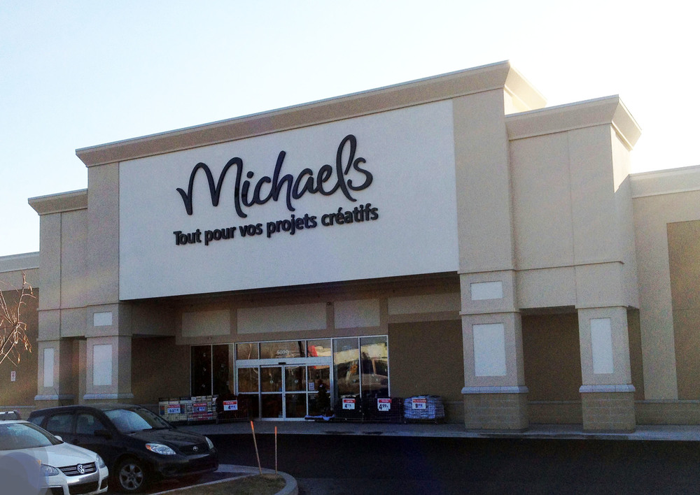 Retail construx general contractor development montreal for Micheals craft store hours