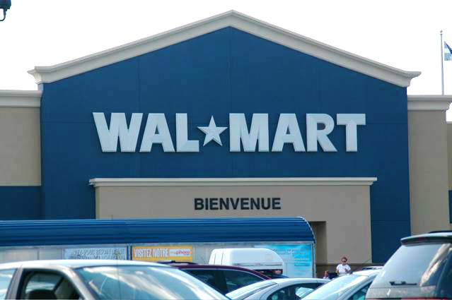 Wal-Mart: 4 Projects/Projets