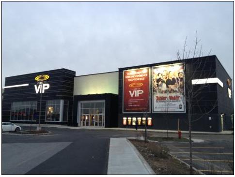 cineplex vip theatre