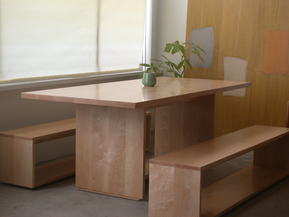 kc table and benches maple custom.jpg