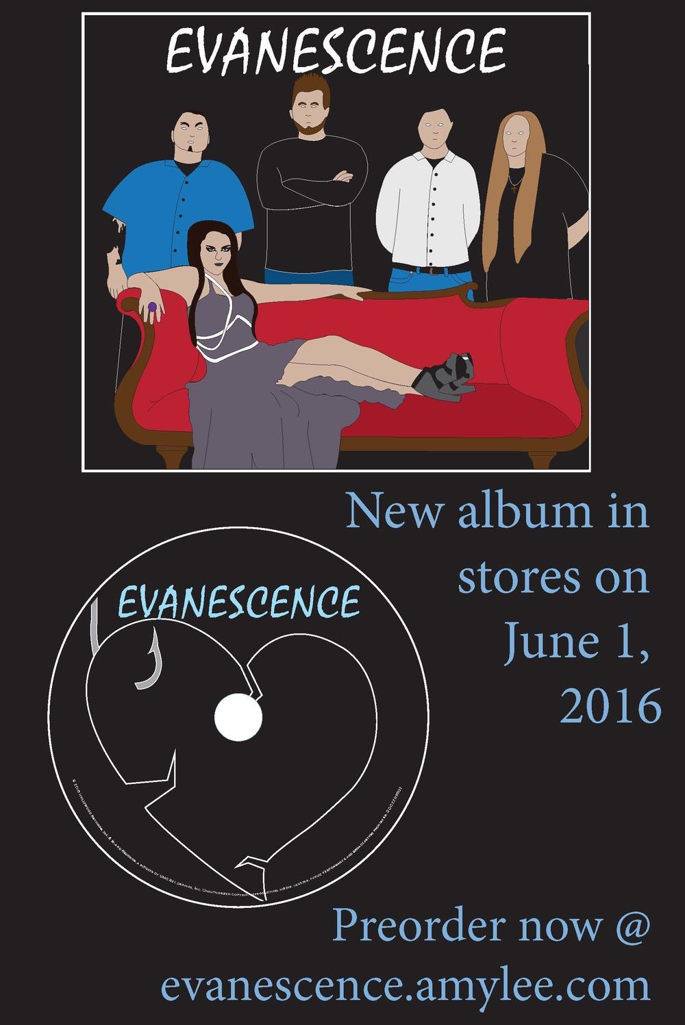 Album Release Poster