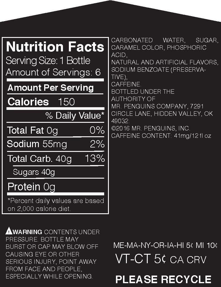 Carrier Nutrition Label
