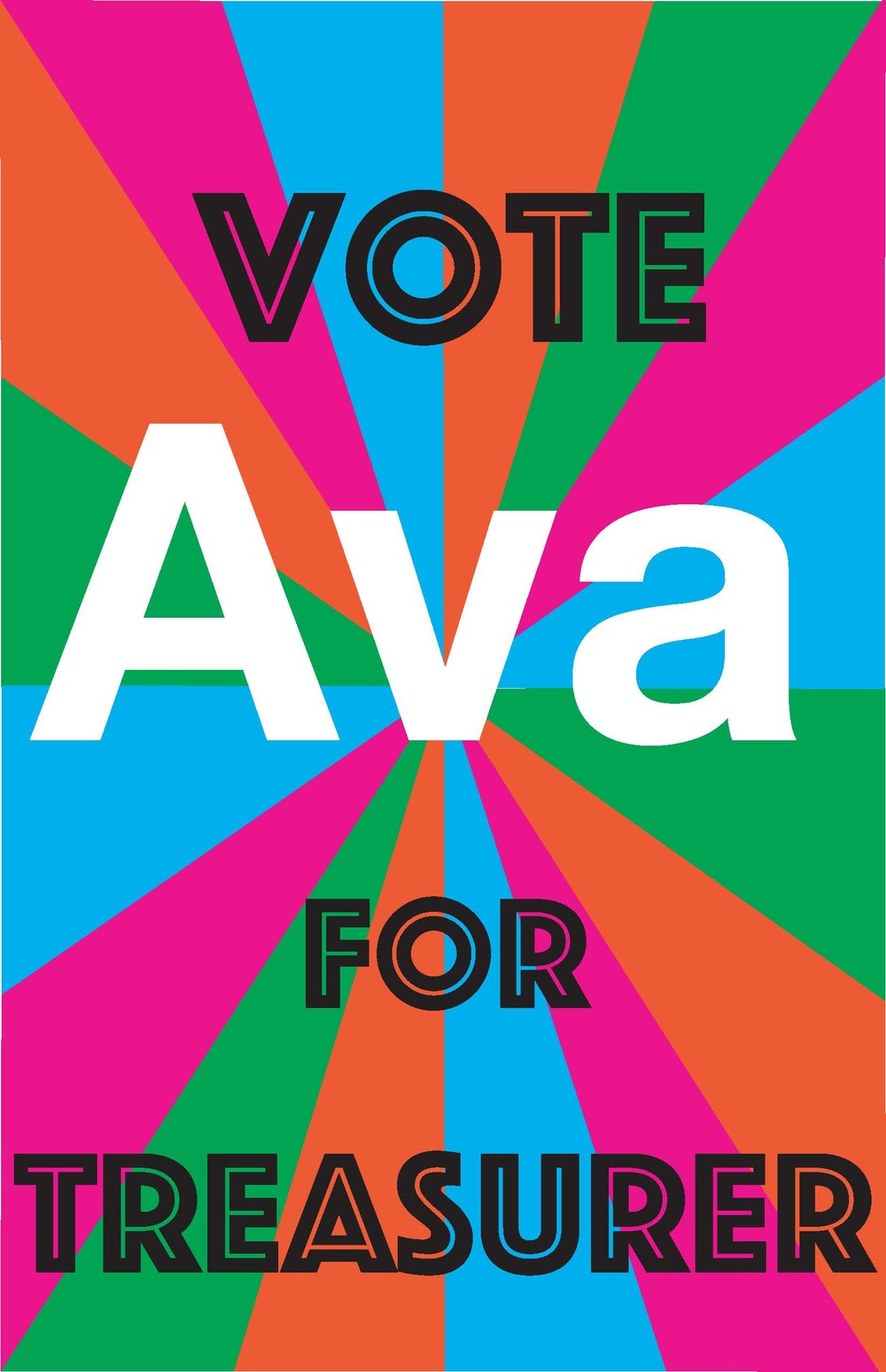 Treasurer Nomination Poster