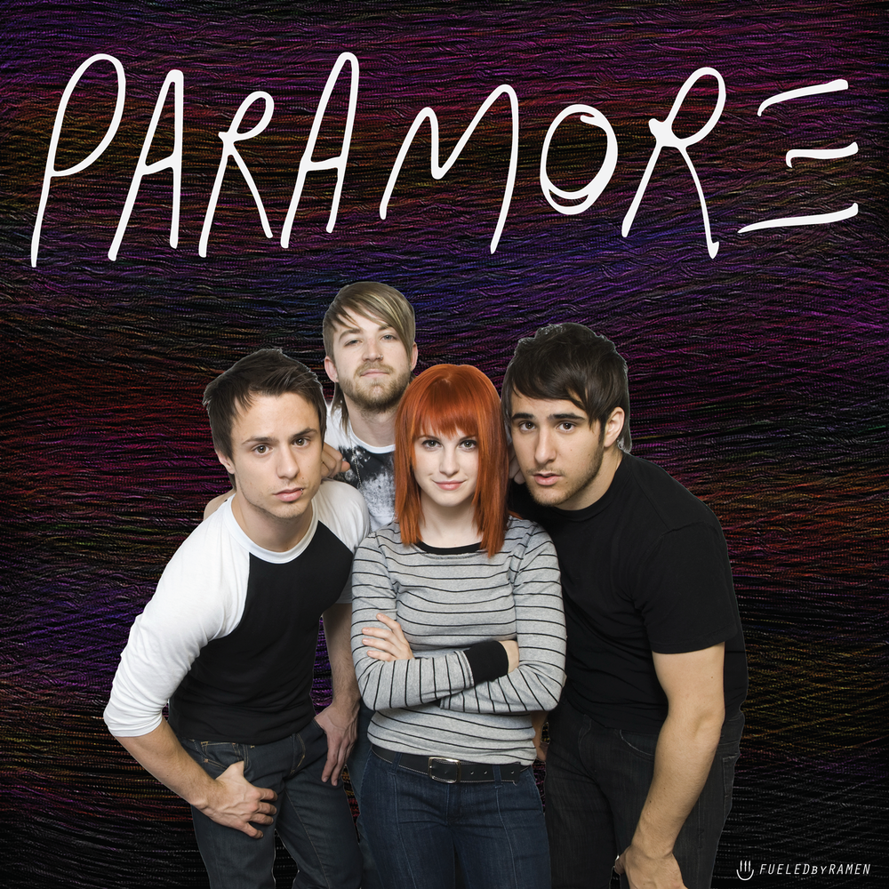 Paramore Vinyl Cover