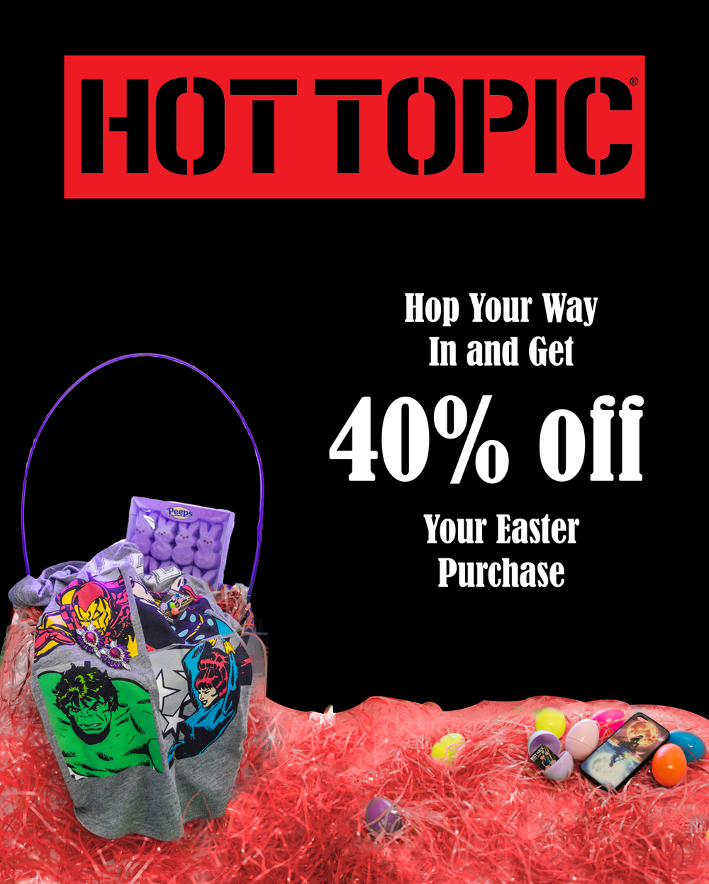 Hot Topic Sale