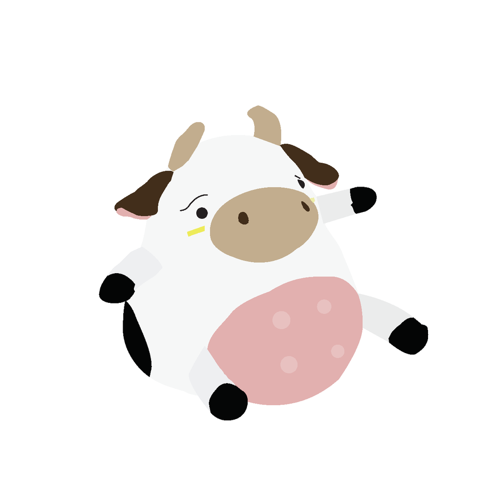 awkward cow!