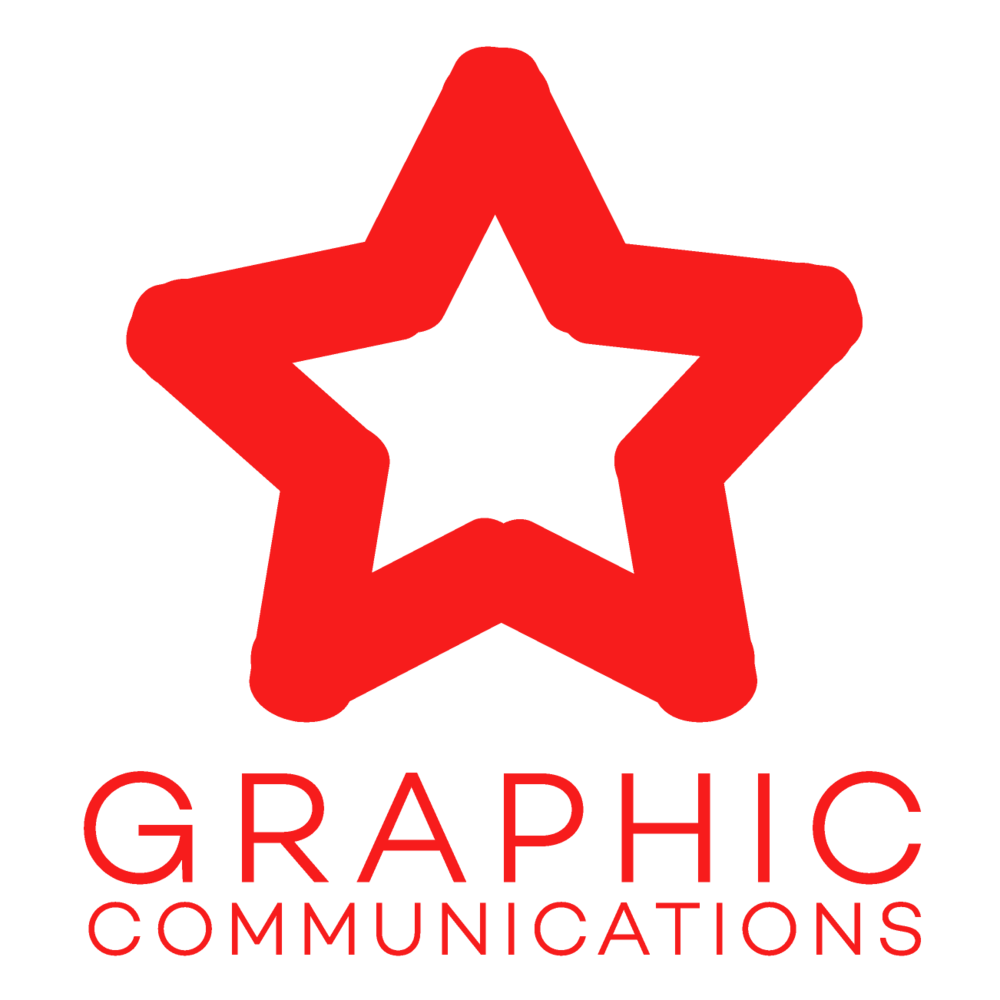 Graphic Communications Star Logo
