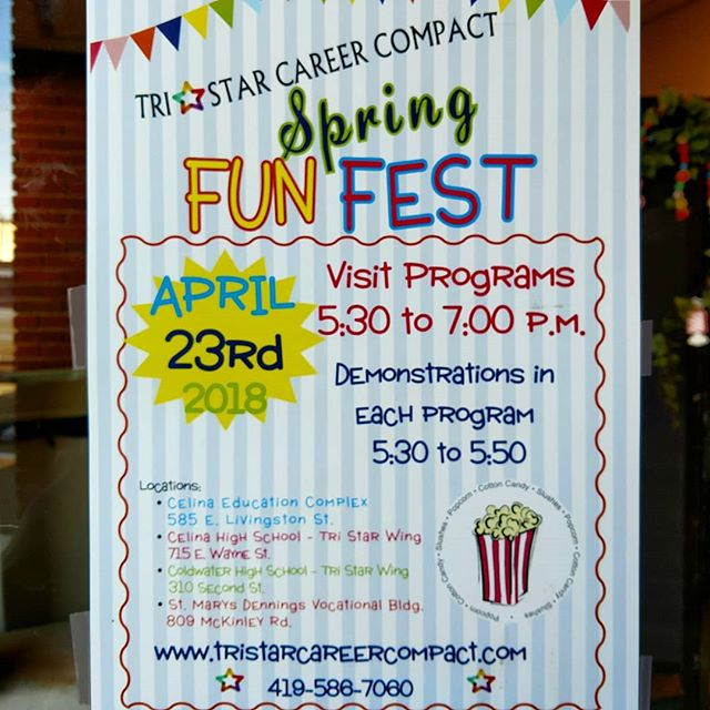 Can't wait to see you tomorrow from 5:30 - 8:00 ‼️🎪 Spring Fun Fest 🎪