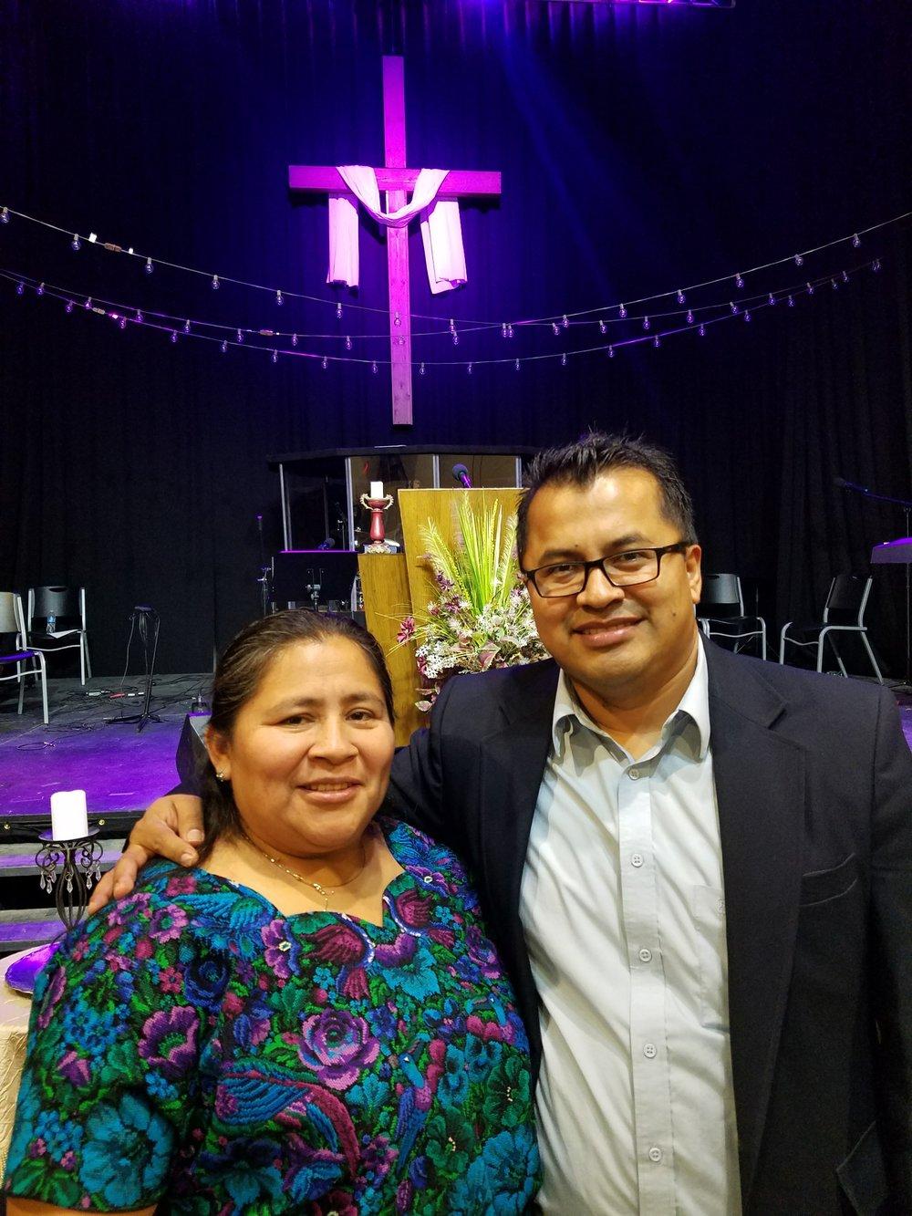 Pastor Herika & husband, Pastor Rudy Larios