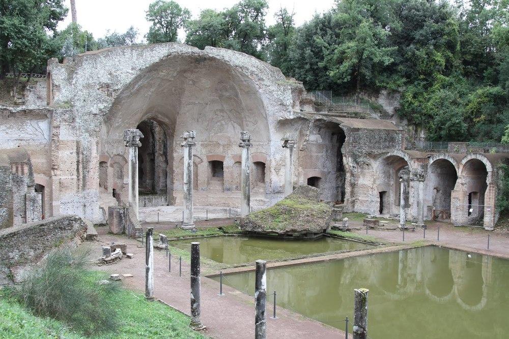 Hadrian's Villa (Villa Adriana). Tivoli, Italy. 2nd century A.D.