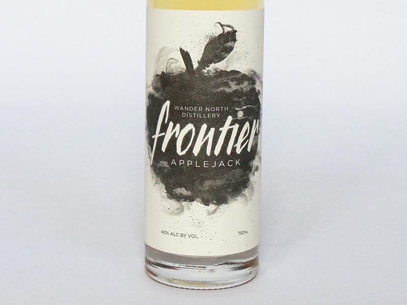 Frontier Applejack | Packaging Design
