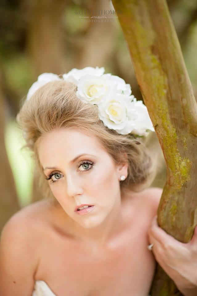 Hair and Makeup: Lauren Walsh  Photography: Kathy Thomas  Location: Delaney Park