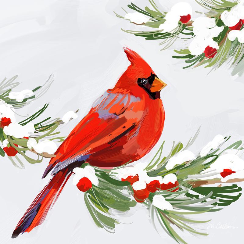 red cardinal bird clipart