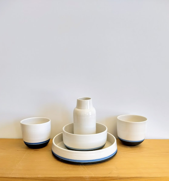 Porcelain Stacking Set