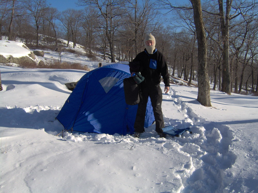 He is well known, among some brave souls, as an excellent omelet maker, even at 25 degrees F, camping on snow.