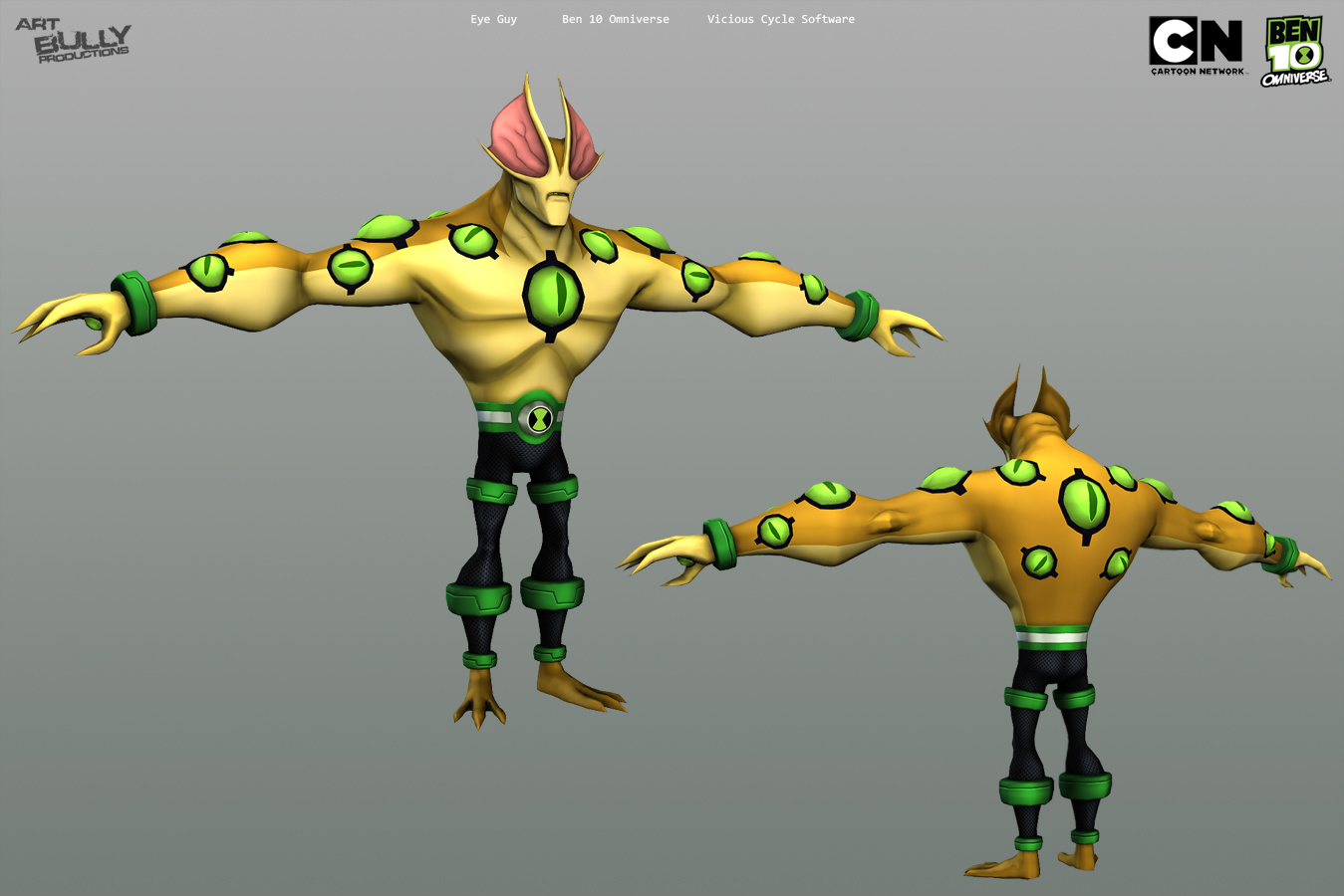 ben 10 characters art bully productions llc game and cinematic