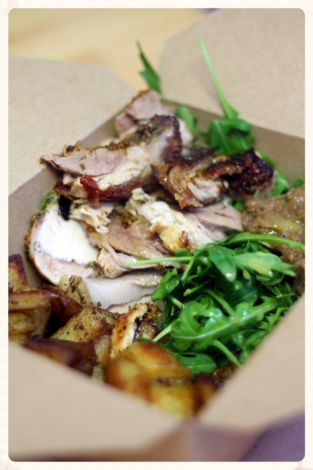 The Porchetta box