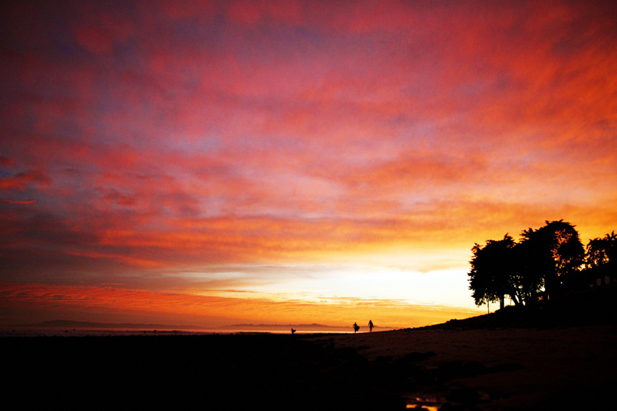 Rincon Sunset Photo:  Will Adler