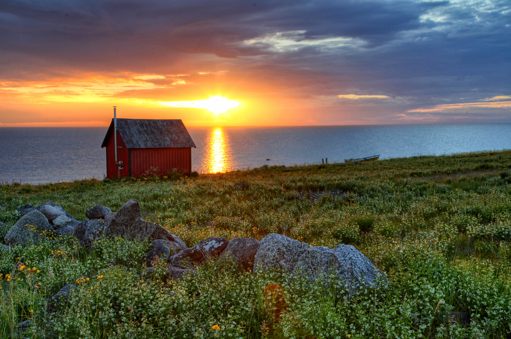Swedish Sunset  Photo: Tim Ciasto