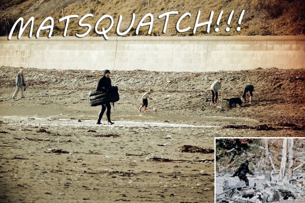 Matsquatch Surfmat