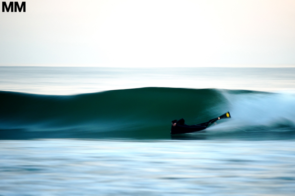 Andrew Stephen Buck, speed blur.   Pic: Morgan Maassan