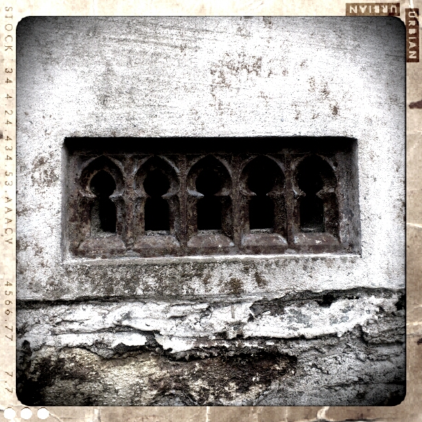 Cast Iron Gothic air vents.