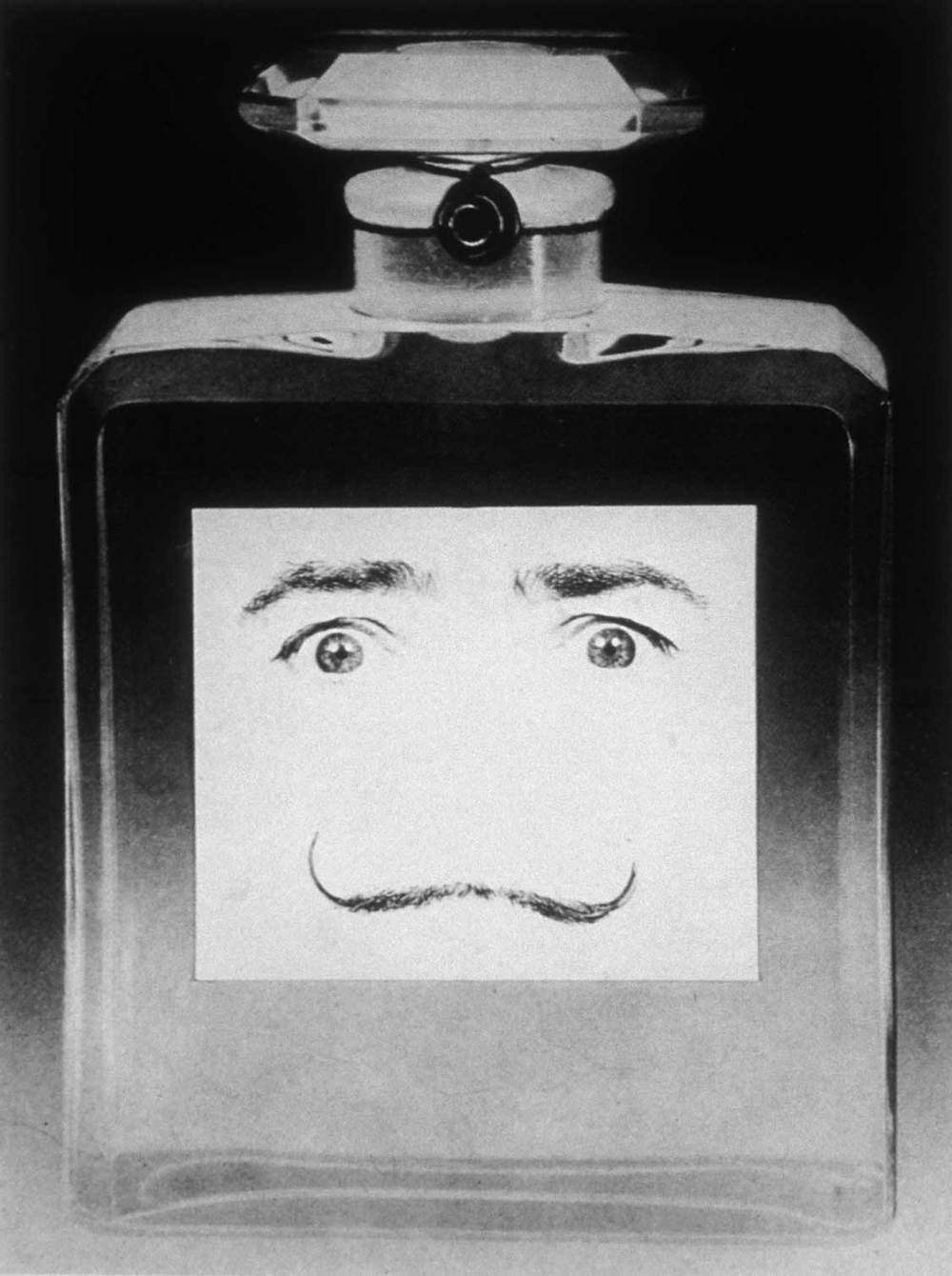 What is your favorite perfume? The essence of Dali. (1953-54). Gelatin silver print.