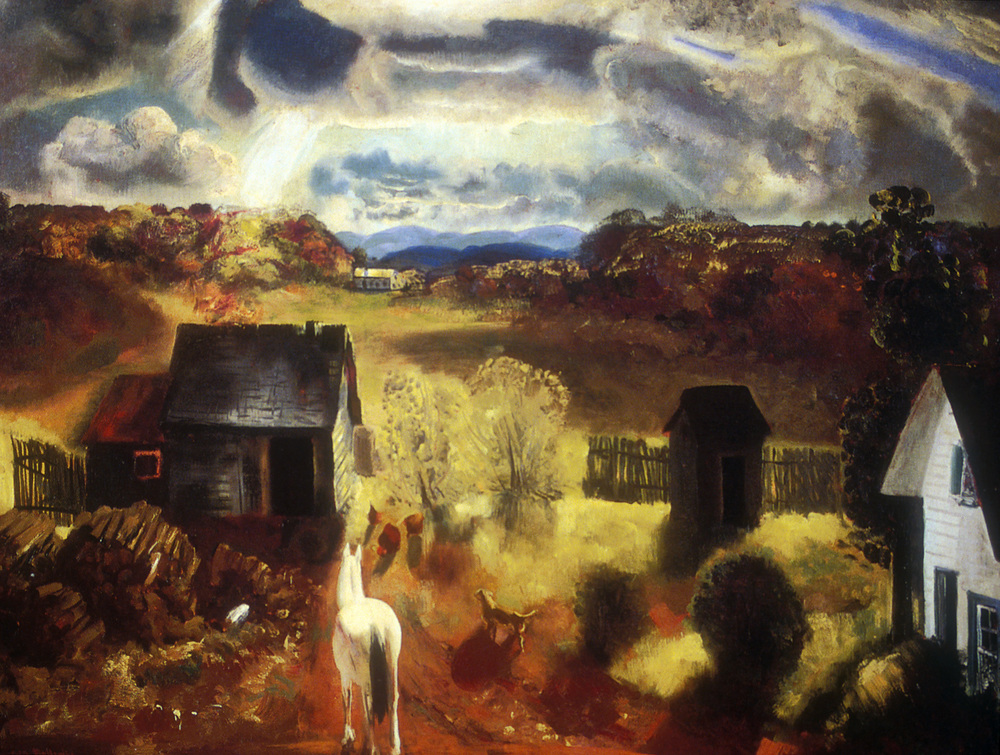 The White Horse (1992). Worcester Art Museum, Worcester, Massachusetts, Museum Purchase.