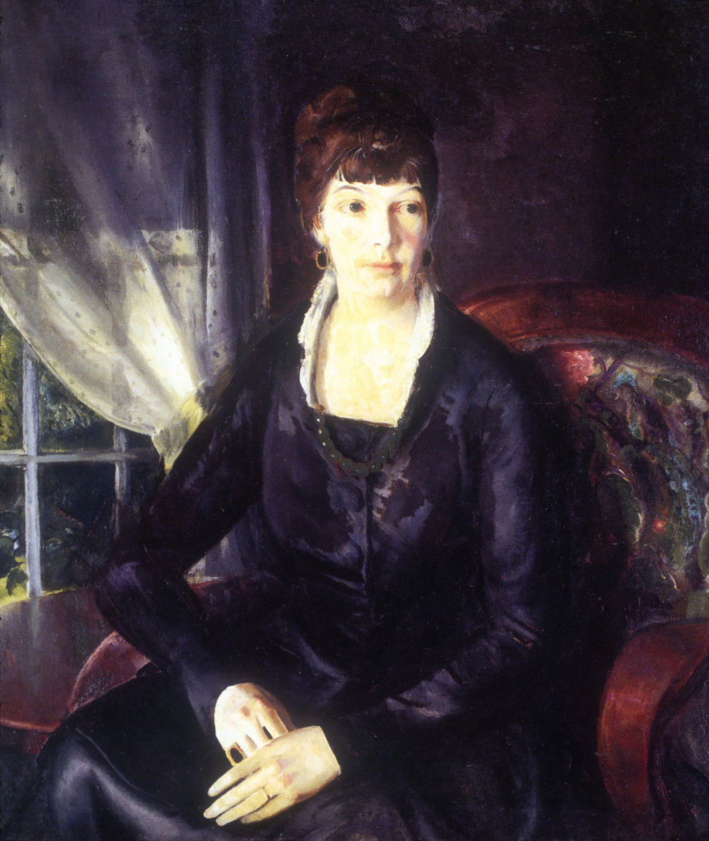 Emma at a Window (1920). Oil on canvas. Phillips Collection, Washington, DC.