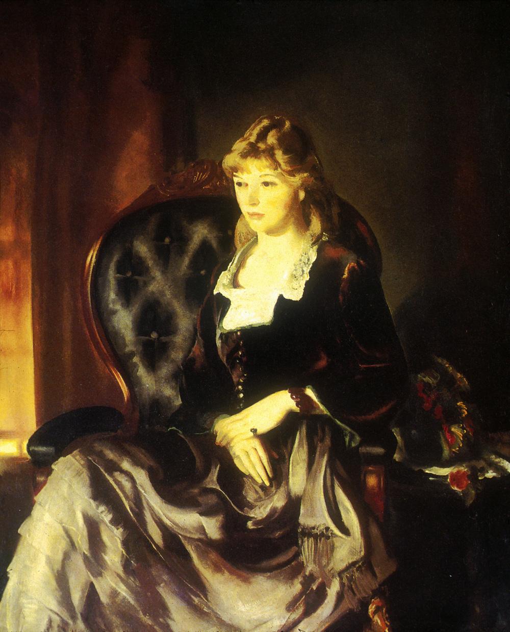 Katherine Rosen (1921). Oil on canvas.Worcester Art Museum, Worcester, Massachusetts, Museum Purchase.