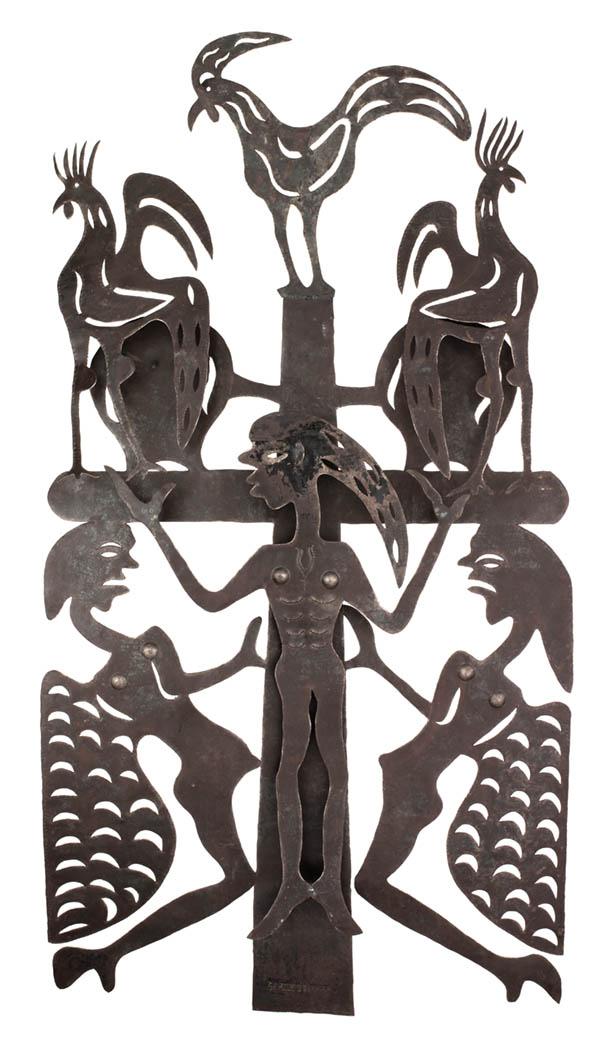 Jolimeau, Serge,Crucifix (n.d.). Iron.