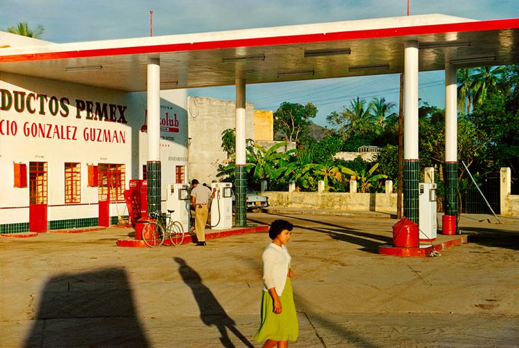 Gas Station, Mazatlán, Mexico , c.1950